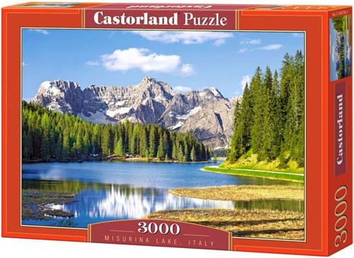 Misurina Lake, Italy Puzzel (3000 stukjes)