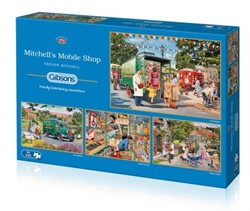 Mitchell's Mobile Shop Puzzel (4 x 500 stukjes)