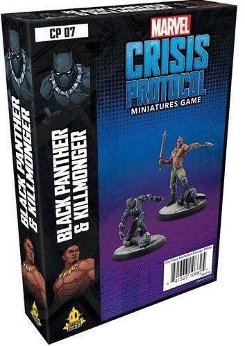 Marvel Crisis Protocol - Black Panther and Killmonder