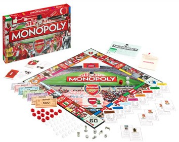 Monopoly - Arsenal (Engels)