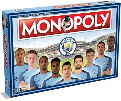 Monopoly - Manchester City (Engels)-1