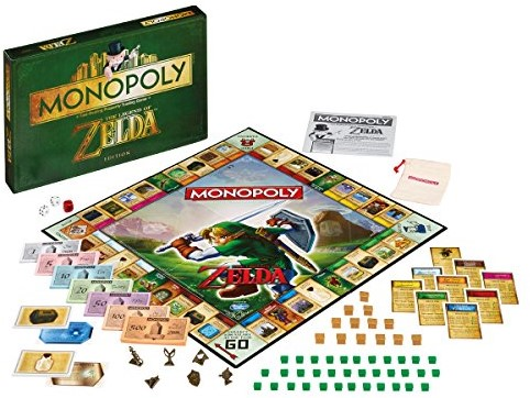 Monopoly - The Legend of Zelda (Engels)