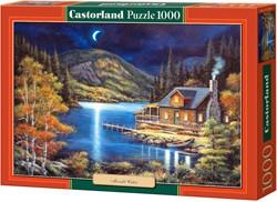 Moonlit Cabin Puzzel (1000 stukjes)