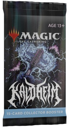 Magic the Gathering -  Kaldheim Collector Boosterpack