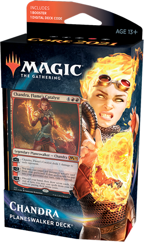 Magic the Gathering - Core 2021 Planeswalker Deck Chandra