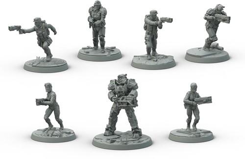 Fallout Wasteland Warfare - Brotherhood of Steel Core Box-2