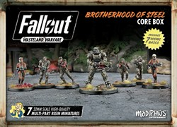 Fallout Wasteland Warfare - Brotherhood of Steel Core Box