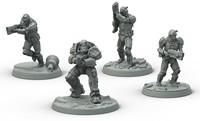 Fallout Wasteland Warfare - BoS Frontline Knights-2