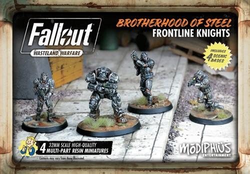 Fallout Wasteland Warfare - BoS Frontline Knights