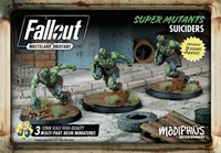 Fallout Wasteland Warfare - Super Mutants Suiciders