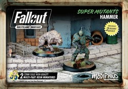 Fallout Wasteland Warfare - Super Mutants Hammer