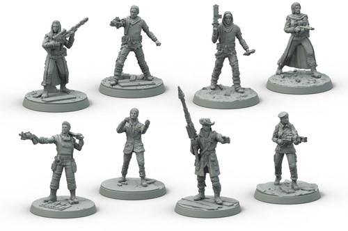 Fallout Wasteland Warfare - Survivors Core Box-2