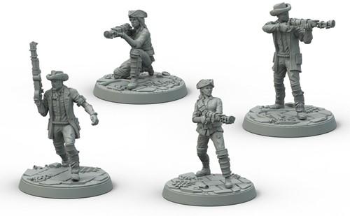 Fallout Wasteland Warfare - Minutemen Posse-2