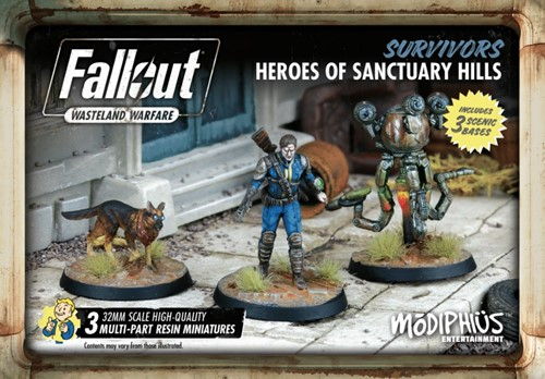 Fallout Wasteland Warfare - Survivors Heroes of Sanctuary Hills