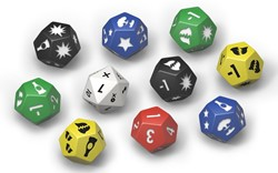 Fallout Wasteland Warfare - Extra Dice Set 10 custom dice
