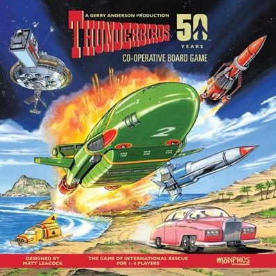 Thunderbirds Co-operative Board Game