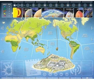 Thunderbirds Co-operative Board Game-3