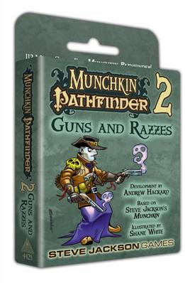Munchkin Pathfinder - 2 Guns and Razzes