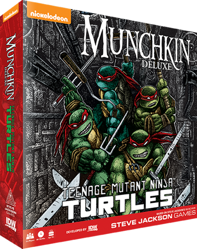 Munchkin - Teenage Mutant Ninja Turtles Deluxe