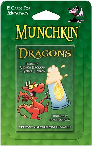 Munchkin Dragons Booster Pack