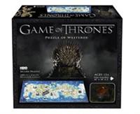 4D Mini Puzzel - Game of Thrones Westeros (350 stukjes)-1