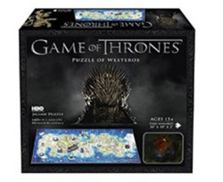 4D Mini Puzzel - Game of Thrones Westeros (350 stukjes)