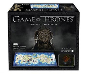 4D Mini Puzzel - Game of Thrones Westeros (350 stukjes)