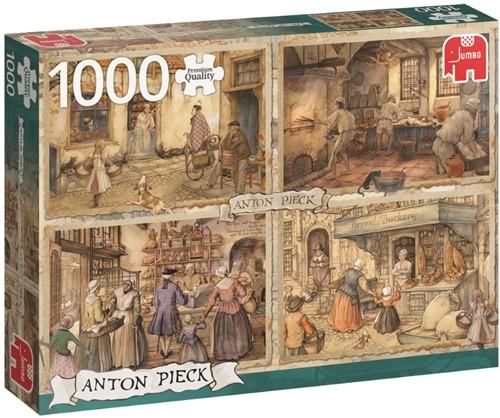 Anton Pieck - Bakkers uit de 19de Eeuw Puzzel (1000 stukjes)
