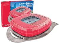 Bayern Munchen - Allianz Arena 3D Puzzel (119 stukjes)-2