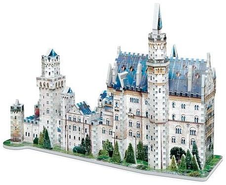 Wrebbit 3D Puzzel - Neuschwansten kasteel (890 stukjes)-2
