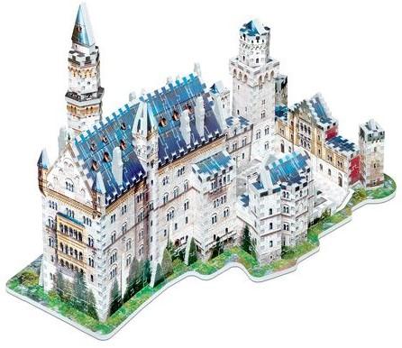 Wrebbit 3D Puzzel - Neuschwansten kasteel (890 stukjes)-3