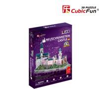 3D Puzzel - Neuschwanstein Castle LED (128 stukjes)-1