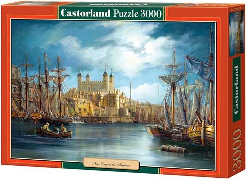New Day at the Harbour Puzzel (3000 stukjes)