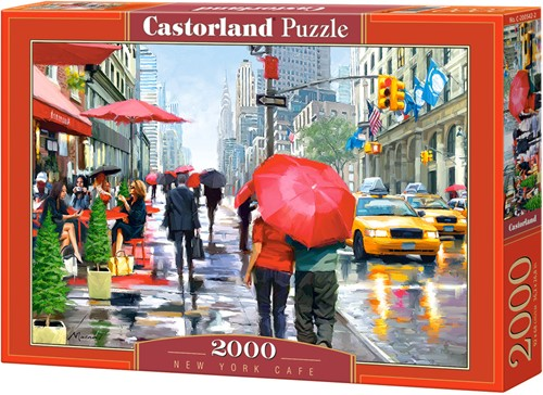 New York Cafe Puzzel (2000 stukjes)