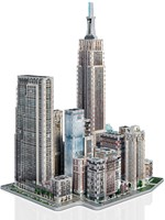 Wrebbit 3D Puzzel - New York Midtown West (900 stukjes)-2