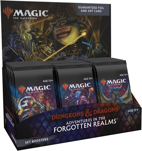 Magic The Gathering - Adventures in the Forgotten Realms Set Boosterbox