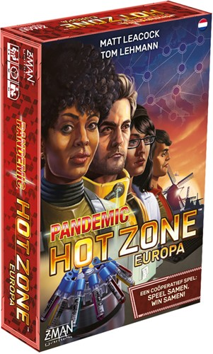 Pandemic Hot Zone Europa (NL versie) (demo spel)