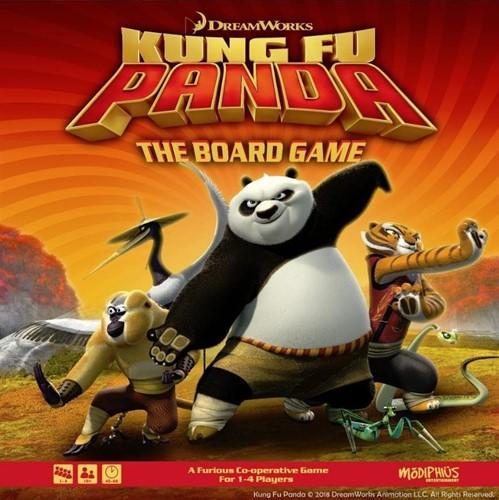 Kung Fu Panda - Boardgame