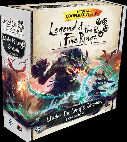 Legend of the Five Rings - Under Fu Leng's Shadow (doos beschadigd)