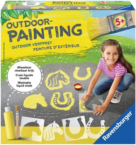 Outdoor Painting - Vloeibaar krijt - Paard-1