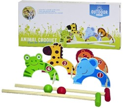 Outdoor Play - Animal Croquet
