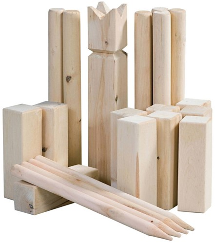 Outdoor Play - Kubb Game-2