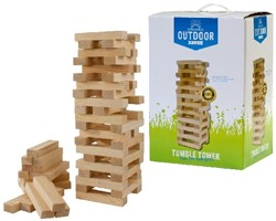 Outdoor Play - Tumble Tower Wood