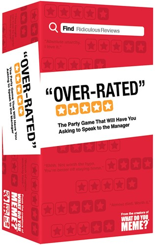 Over-Rated - Partyspel
