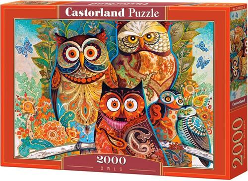 Owls Puzzel (2000 stukjes)