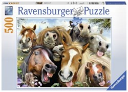 Paarden Selfie (500 stukjes)