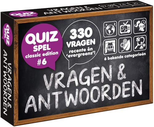 Trivia Vragen & Antwoorden - Classic Edition #6