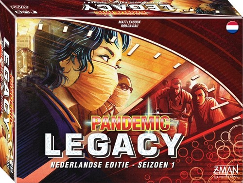 Pandemic Legacy NL - Rode Editie
