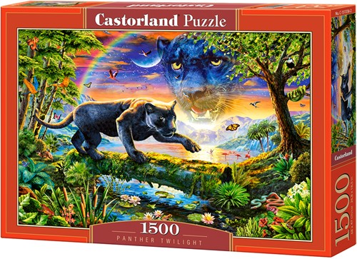 Panther Twillight Puzzel (1500 stukjes)