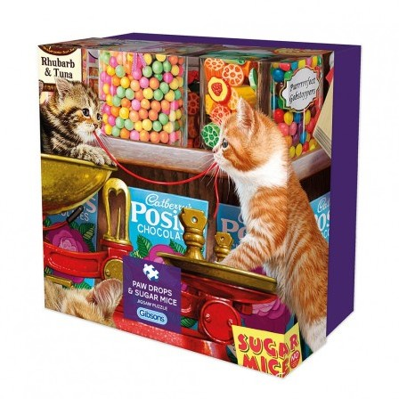 Paw Drops & Sugar Mice - Gift Box - Steve Read Puzzel (500 stukjes)